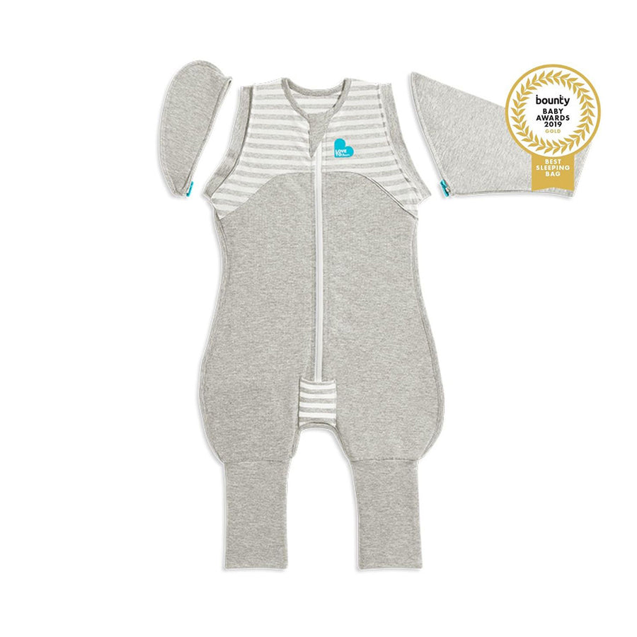 Love To Dream 1.0 Tog Swaddle Up Transition Suit