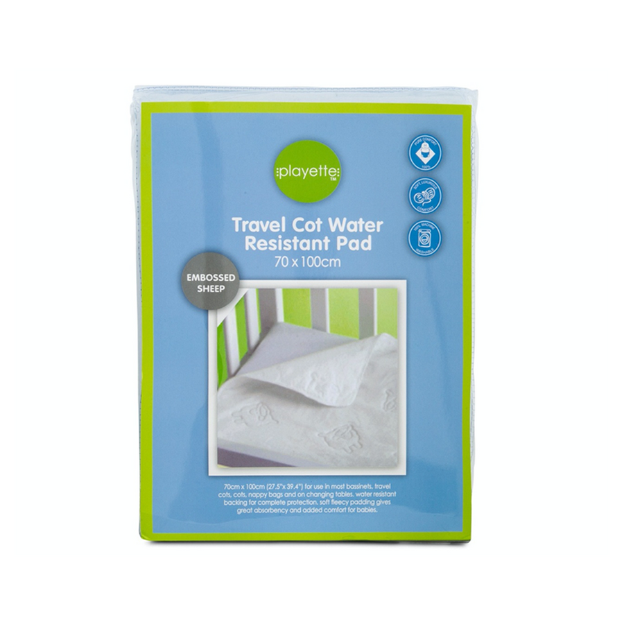 Playette Travel Cot Water Resistant Pad