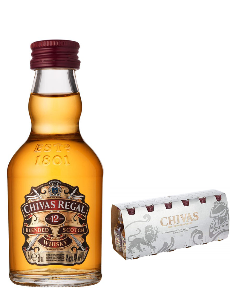 Chivas Regal 12 Year 12x 5cl Miniature Pack