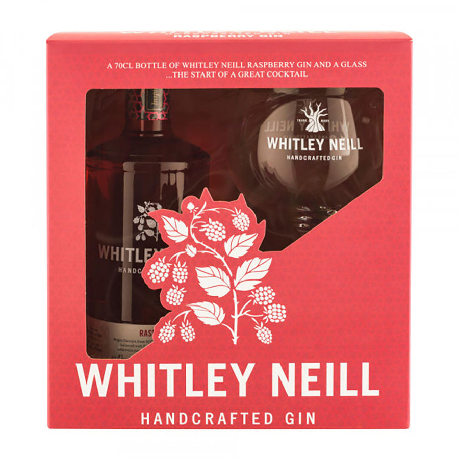 Whitley Neill Raspberry Gin Gift Set