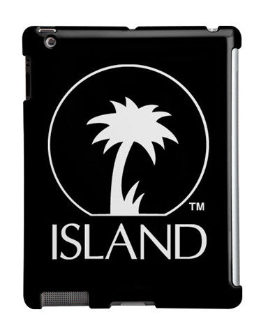 Island Records Black iPad Case