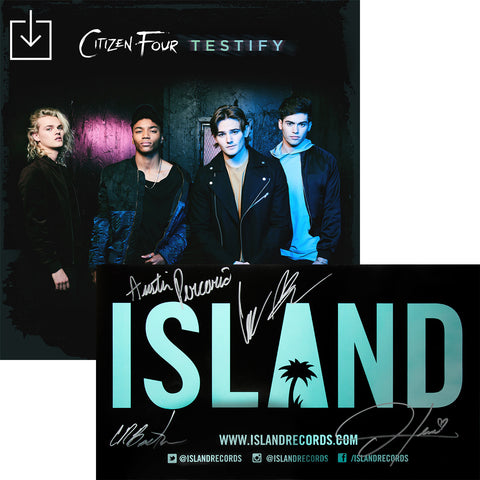 Citizen Four - Testify Digital Download + Autographed Poster