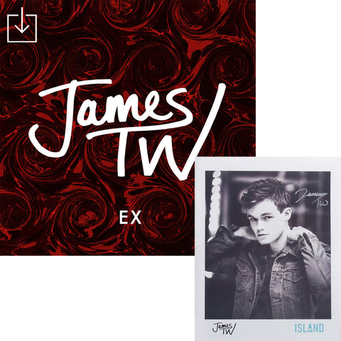 James TW - Ex Digital Download + Autographed Poster