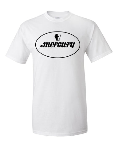 Mercury Oval Logo T-Shirt