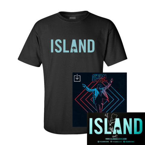 Sean Paul - No Lie Remix Digital Downloads + Island T-Shirt + Autographed Poster