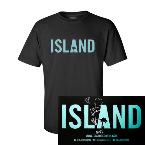 Sean Paul - Island T-Shirt + Autographed Poster