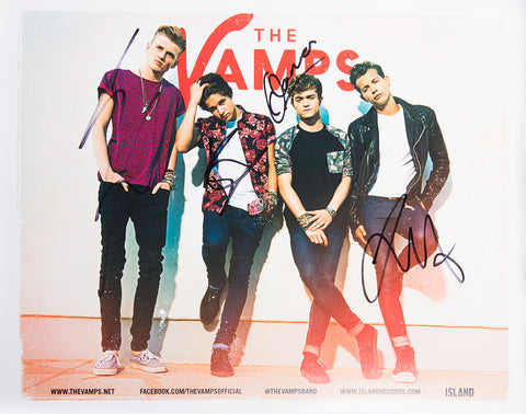 The Vamps - All Night Digital Download + Autographed Poster