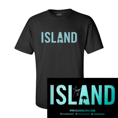 Youngr - Island T-Shirt + Autographed Poster