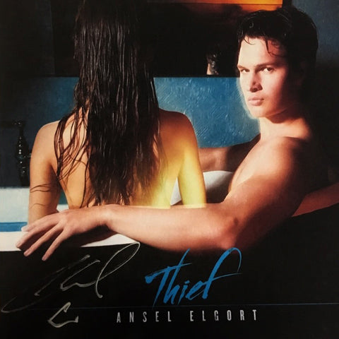 Ansel Elgort - Thief Digital Download + Island T-Shirt + Autographed Postcard