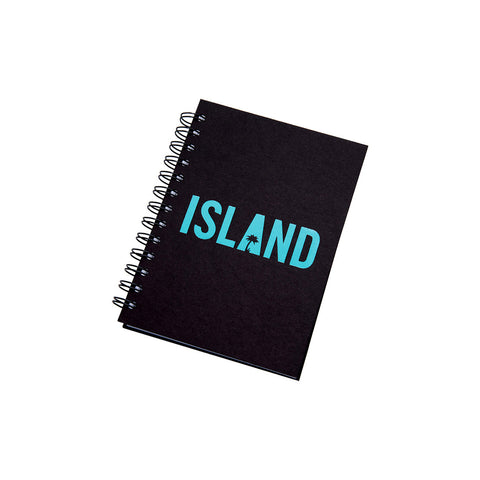 Island Logo Notebook