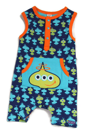 Alien Short Romper
