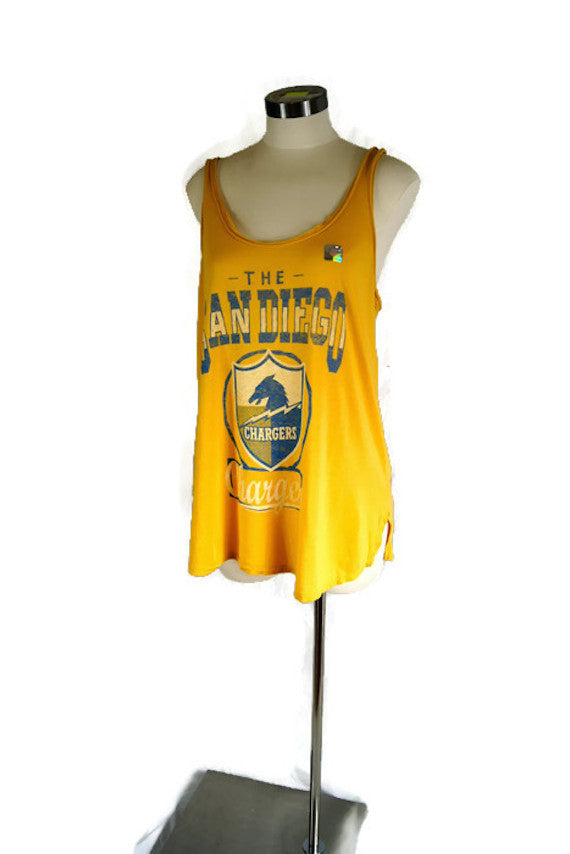 Junk Food San Diego Chargers NFL Women's Tank Top