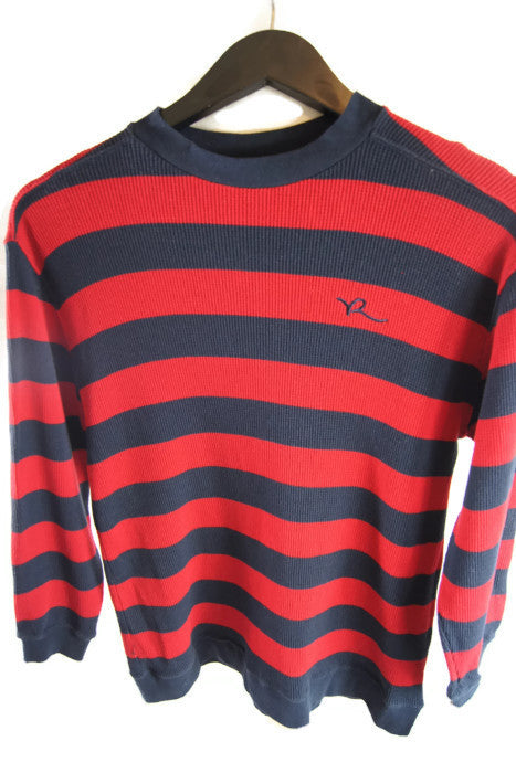 Rocawear Black & Red Stripes Long Sleeves