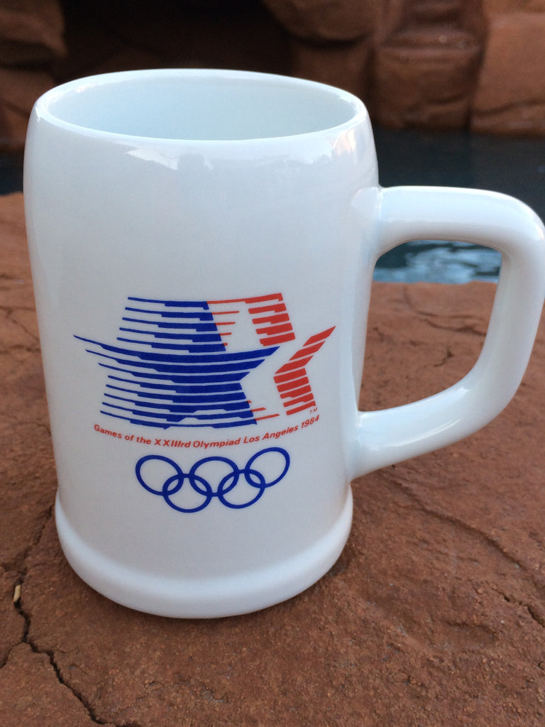 Mug for the XXIIIrd Olympiad Los Angeles 1984