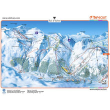 Load image into Gallery viewer, Tignes Val d'Isère Wipeout Map