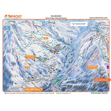 Load image into Gallery viewer, Valloire / Valmeinier Wipeout Map