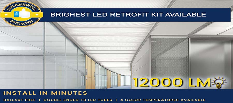 How to Rewire T12 or T8 Fluorescent Fixtures for T8 LEDs