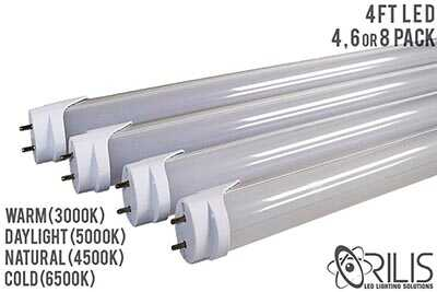 4 FT Double Ended LED Tubes