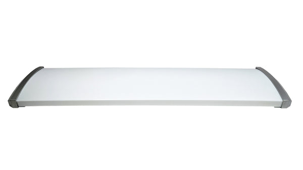 Replacment Cover for 4 Ft. 96W Premium Brushed Nickel Flush Mount Ceiling Fixture