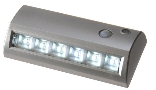 6-LED Wireless Motion Sensor Weatherproof Garden, Path or Porch Light - ORILIS LED LIGHTING SOLUTIONS