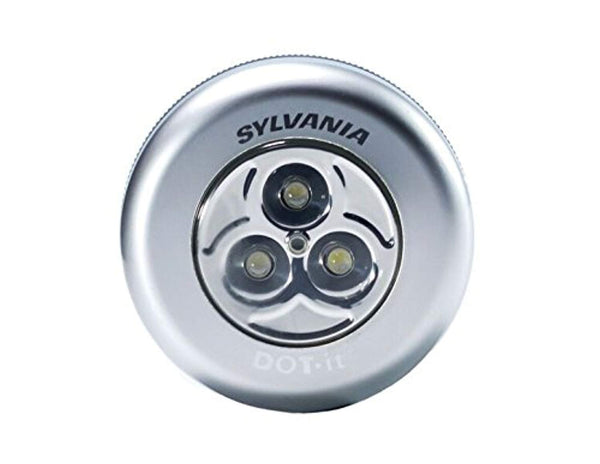 SYLVANIA LED Dot-It Tap Light - Push On/Off - ORILIS LED LIGHTING SOLUTIONS