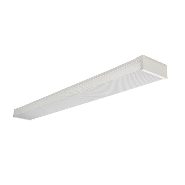 4 Ft. 40W Integrated LED Wraparound Light with Prismatic Lens, 3800 Lumen, 4000K