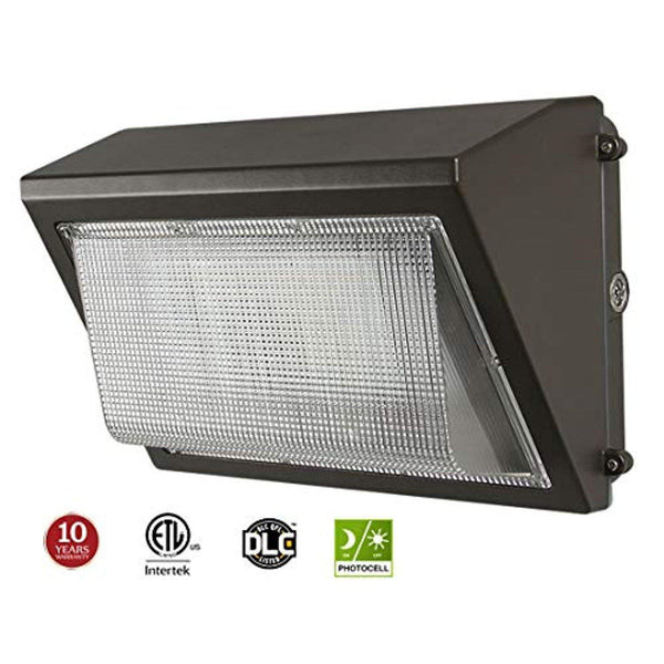 LED Wall Pack Waterproof Outdoor Light, 7200lm with Photocell Sensor, 5000K - ORILIS LED LIGHTING SOLUTIONS