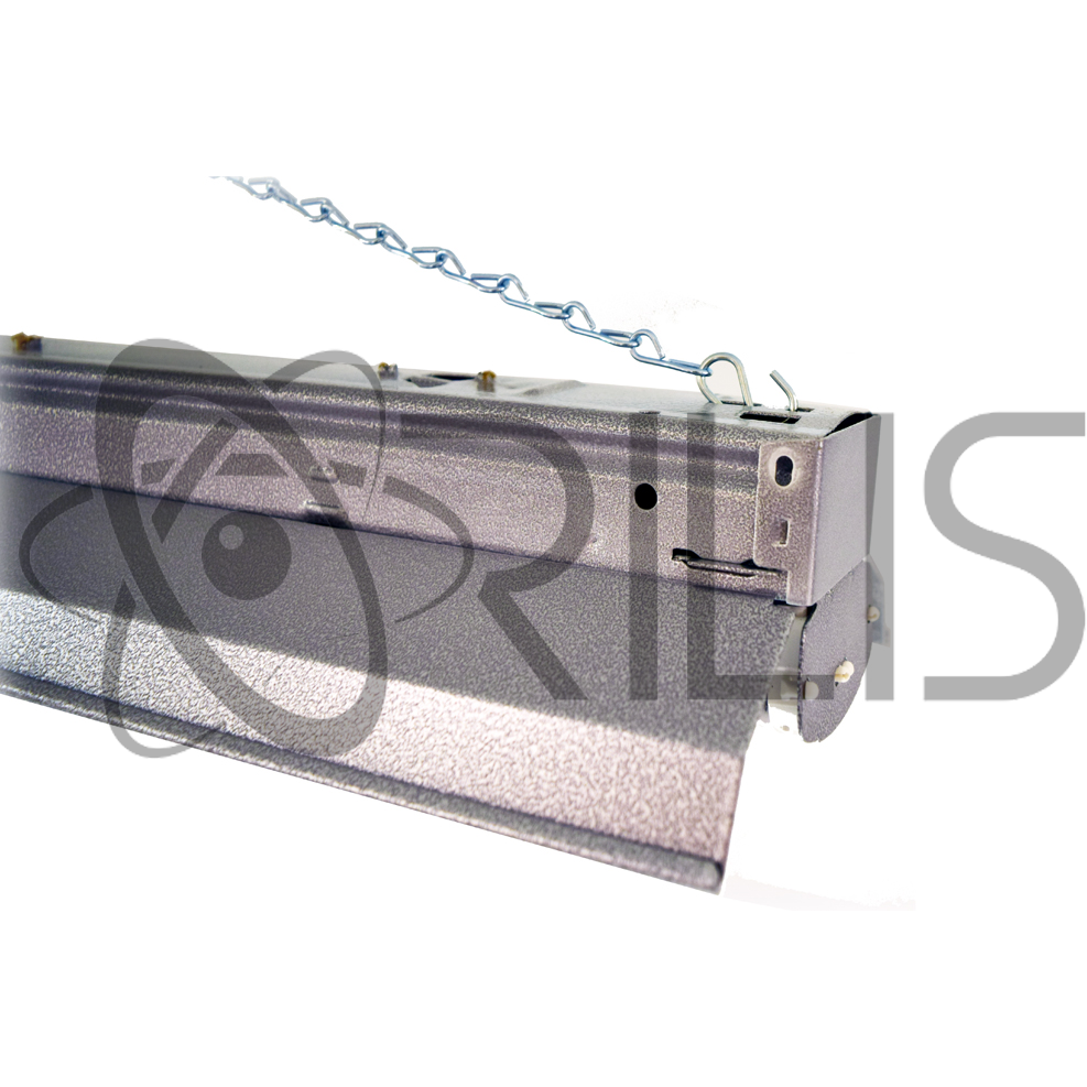 4 FT Heavy Duty LED Ceiling Fixture With Pull Chain