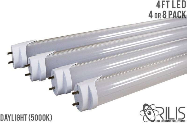 4 FT Single Ended 22 Watt LED Tubes - 2,640 Lumens - 5000K - Day Light - DLC - UL Listed - ORILIS LED LIGHTING SOLUTIONS