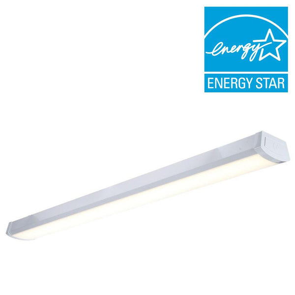 4 Ft. 40W Ceiling or Wall Mount Integrated LED Wraparound Fixture 2400Lumen 4000K - ORILIS LED LIGHTING SOLUTIONS