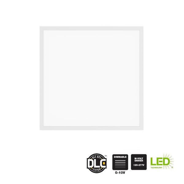 2 Ft x 2 Ft Integrated Edge-Lit LED 30W Dimmable Flat Panel Troffer- 3000 Lumens - ORILIS LED LIGHTING SOLUTIONS