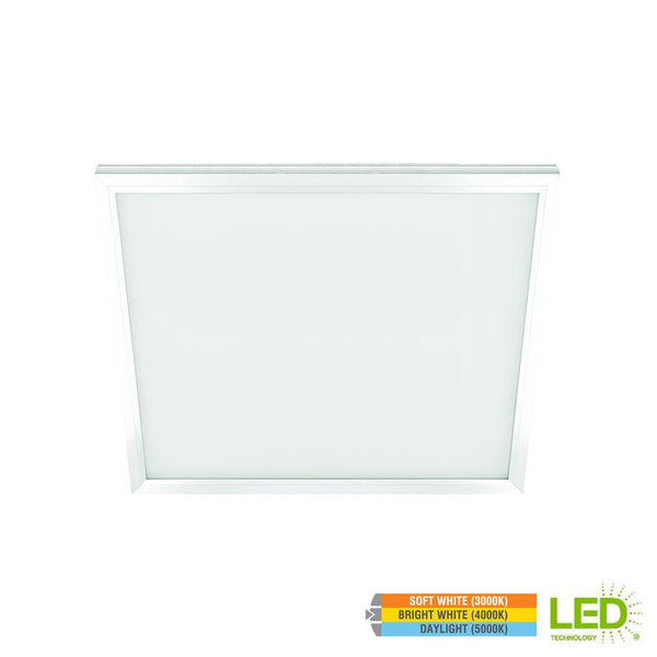 1 Ft x 1 Ft Edge-Lit LED 10W Dimmable Color Changing Flushmount Flat Panel Light - ORILIS LED LIGHTING SOLUTIONS