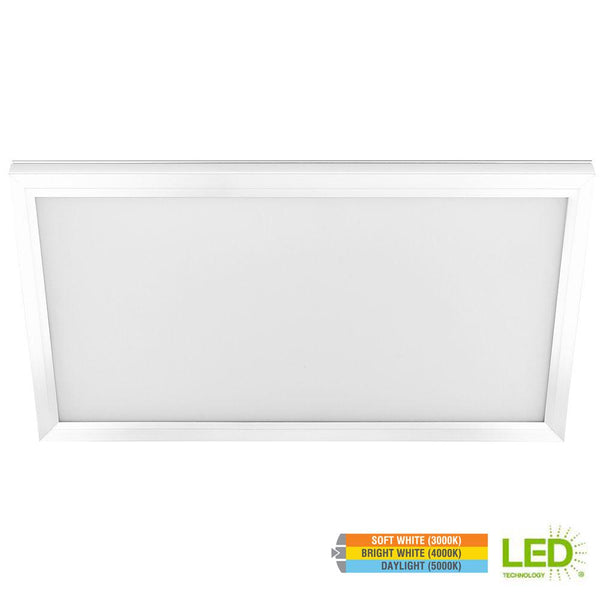 1 Ft x 2 Ft Edge-Lit LED 23W Dimmable Color Changing Flushmount Flat Panel Light - ORILIS LED LIGHTING SOLUTIONS