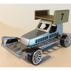 Brisca F2 driver - Gorgon Moodie - Die-cast model car