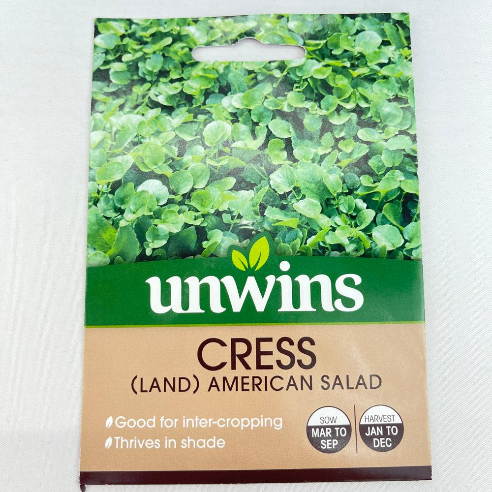 Cress Land American Salad