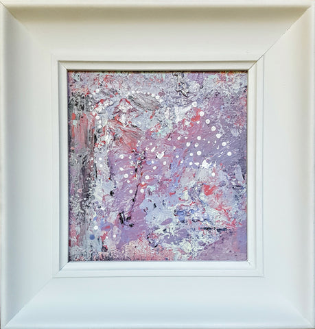... Inner Pistil, Original Small Abstract Expression Painting Frame Under  $200 ...