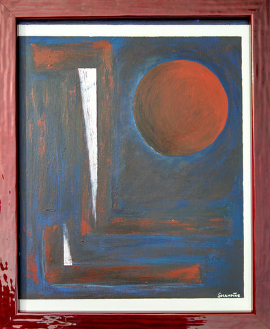Moonshine - Contemporary Abstract Expressionism Painting - Cosmic Painting Collection