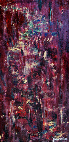 PATH LESS TRAVELED - Contemporary Abstract Expressionism - Awareness Collection