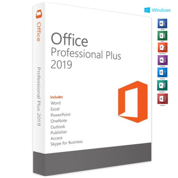 Genuine Microsoft Office 2019 Professional Plus / One PC / LIFETIME - Legit Key Solution