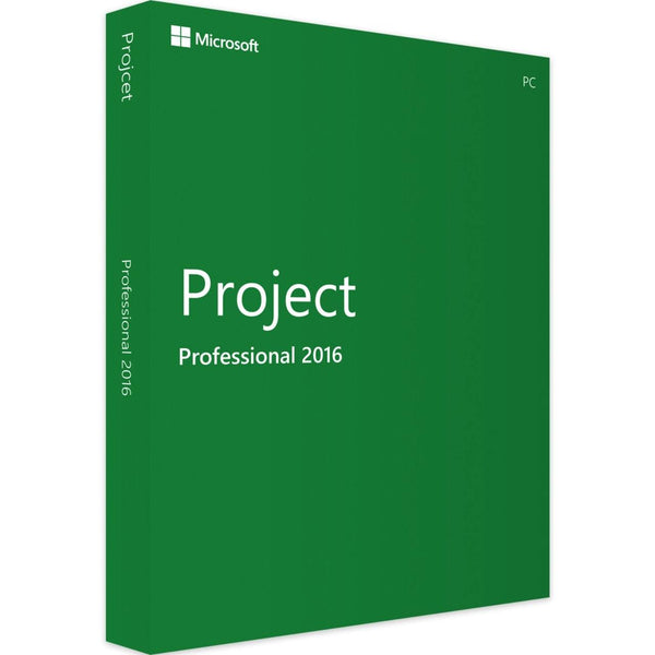 Genuine Microsoft Project 2016 PROFESSIONAL – INSTANT DELIVERY - Legit Key Solution