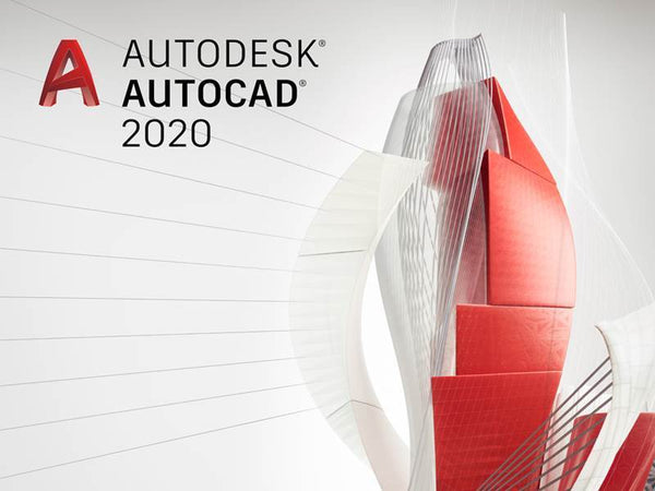 Genuine Autodesk AutoCAD 2020 | 3 Year License Windows - Legit Key Solution