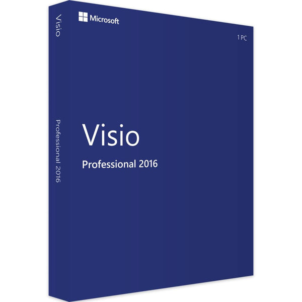 Genuine Microsoft Visio 2016 PROFESSIONAL – INSTANT DELIVERY - Legit Key Solution