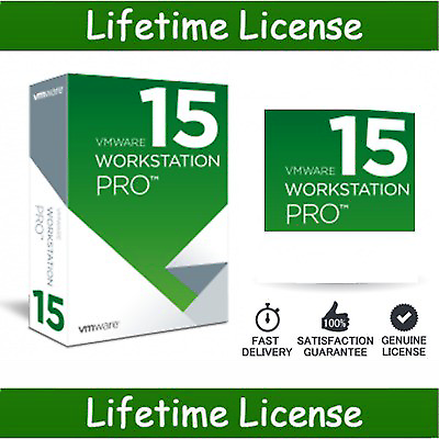 VMware Workstation 15 Pro 🔥License Activation Key 🔑 Lifetime - Legit Key Solution