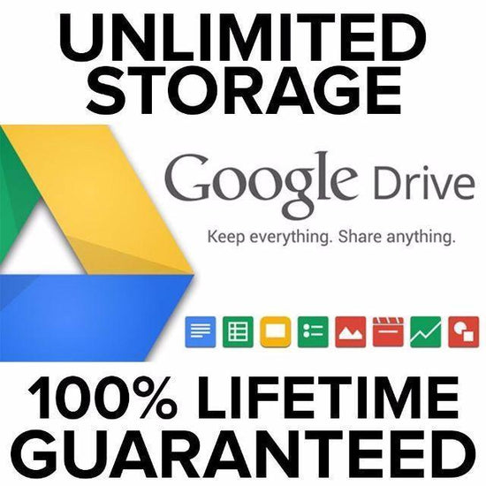 UNLIMITED GOOGLE DRIVE CLOUD STORAGE PREMIUM ON YOUR ACCOUNT – GUARANTEED LIFETIME ACTIVATION - Legit Key Solution