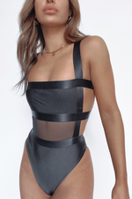 Load image into Gallery viewer, Zuni Bodysuit - Black