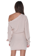Load image into Gallery viewer, Bella Knit Dress - Natural