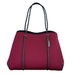 Load image into Gallery viewer, Berry Neoprene Tote