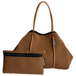 Load image into Gallery viewer, Chocolate Neoprene Tote