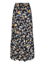 Load image into Gallery viewer, Elena Maxi Skirt - Navy Floral
