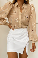 Load image into Gallery viewer, Elise Blouse - Sand